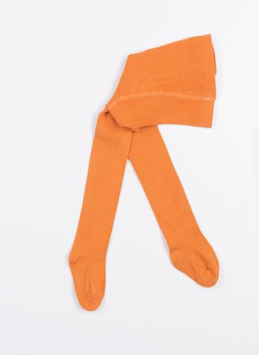 Katia & Bony Family Bebek Basic Külotlu Çorap  Oranj